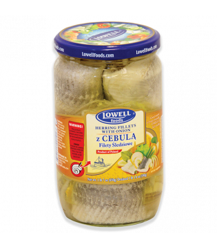 Herring | Fillet | Cebula | Onion